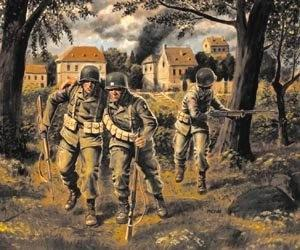 Master Box Ltd 1/35 US Paratroopers 1944 (3) Kit