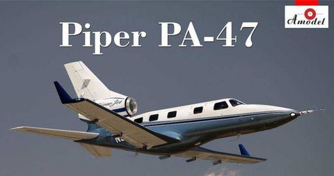 A Model From Russia 1/72 Piper Pa47 Private Jet Kit