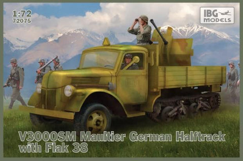 IBG Military 1/72 V3000S German Truck General Service (New Tool) Kit