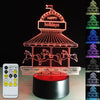 3D Carousel LED Lamp - 3D Led Lamps