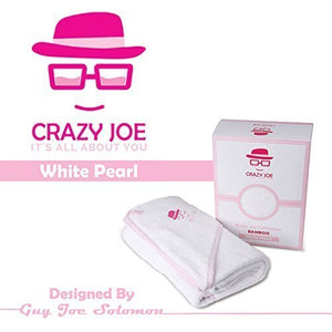 Crazy Joe Hooded Baby Towel 100% Premium Bamboo XL (39 in X 39 in 600 GSM) Pink
