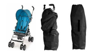 Umbrella Stroller Travel Bag with Gate Check Design by JL Childress|Convenient Infant/Baby Stroller Storage Solution for Airport/Airplane Handling|Lightweight & Easy to Carry with Drawstring Closure