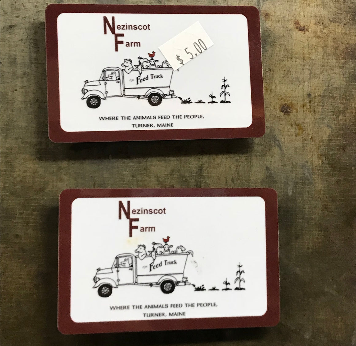 Nezinscot Farm Store | Gift Shop Magnets