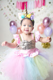 Unicorn dress-unicorn tutu dress-unicorn birthday dress-unicorn tutu-unicorn outfit-Gold