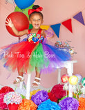 Candy Land tutu dress- Candy land dress