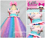 Lol Surprise Doll Dress- Lol Surprise Dress-Lol Doll Dress-Lol tutu Dress