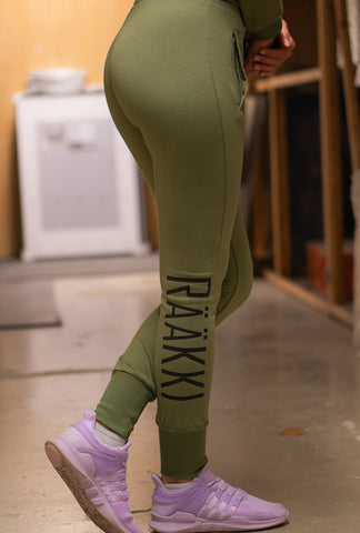 187 Joggers - Army Green (Women)