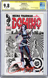 CGC 9.8 SS Domino #1 cover C J. Scott Campbell