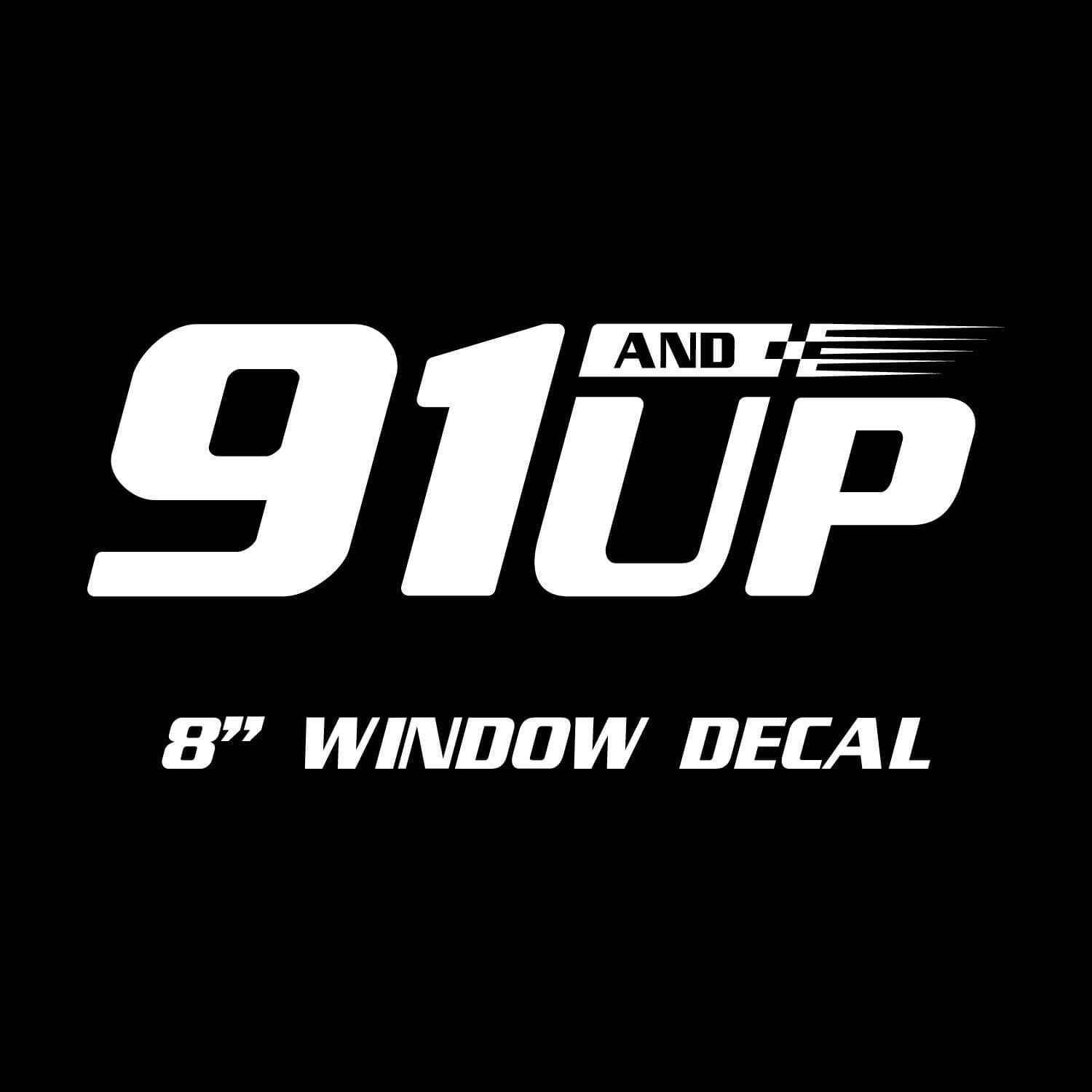 "8"" Original Logo Decal - Single Color"