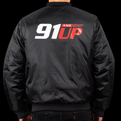 91andUP-bomber-jacket-back