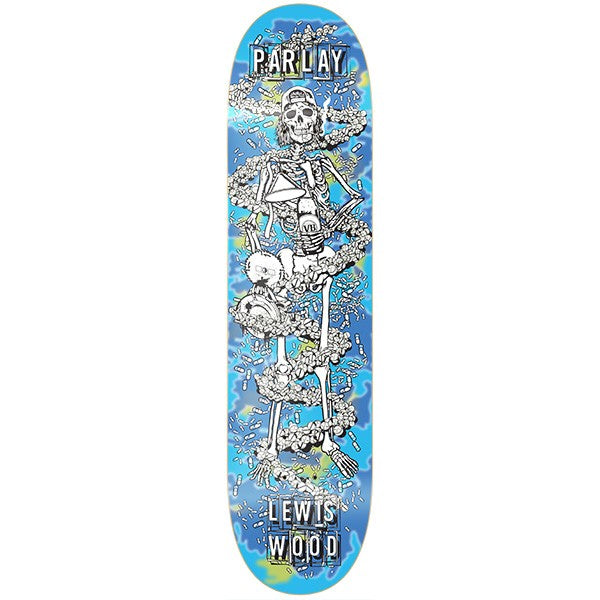 Paylay Lewis Wood 'Glow In The Dark' Deck
