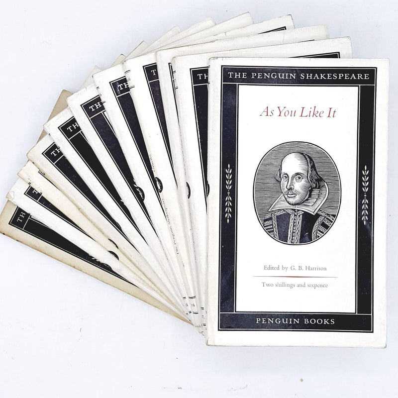 Penguin Drama Shakespeare Collection 1949 - 1962