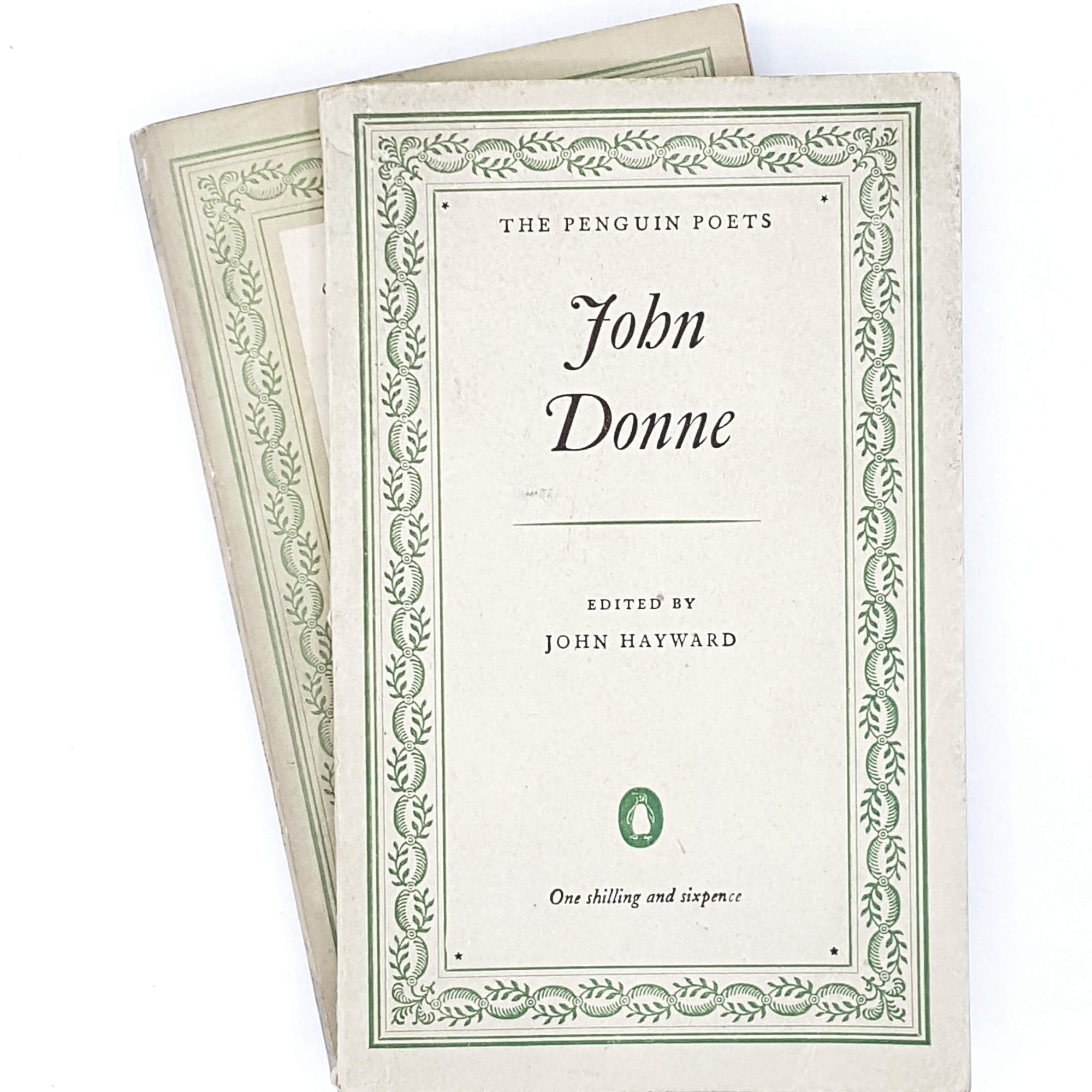 First Edition Collection of Penguin Poetry: Modern American Verse and John Donne 1950 - 1954