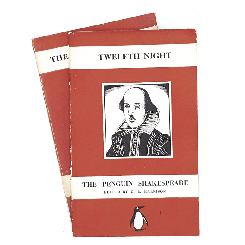 Collection William Shakespeare's Penguin Dramas 1940 - 1947 stark red set