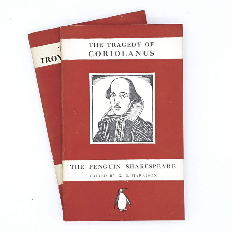 First Edition Collection William Shakespeare Penguin Tragedies 1947
