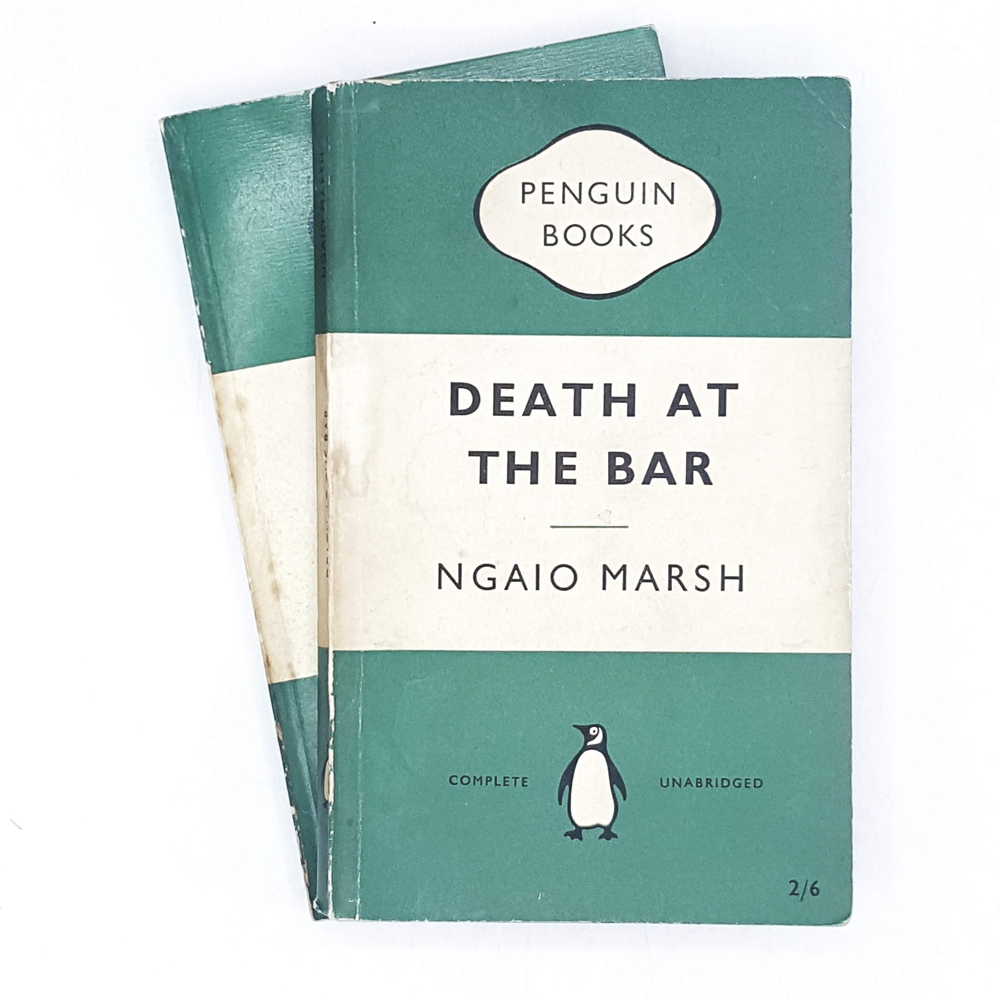 Collection Ngaio Marsh Vintage Penguin Crime set 1955 - 1959