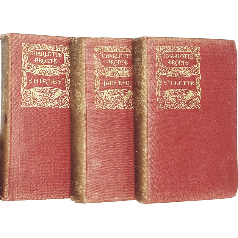 Collection Charlotte Brontë's English Literature Classic 1895 - 1896