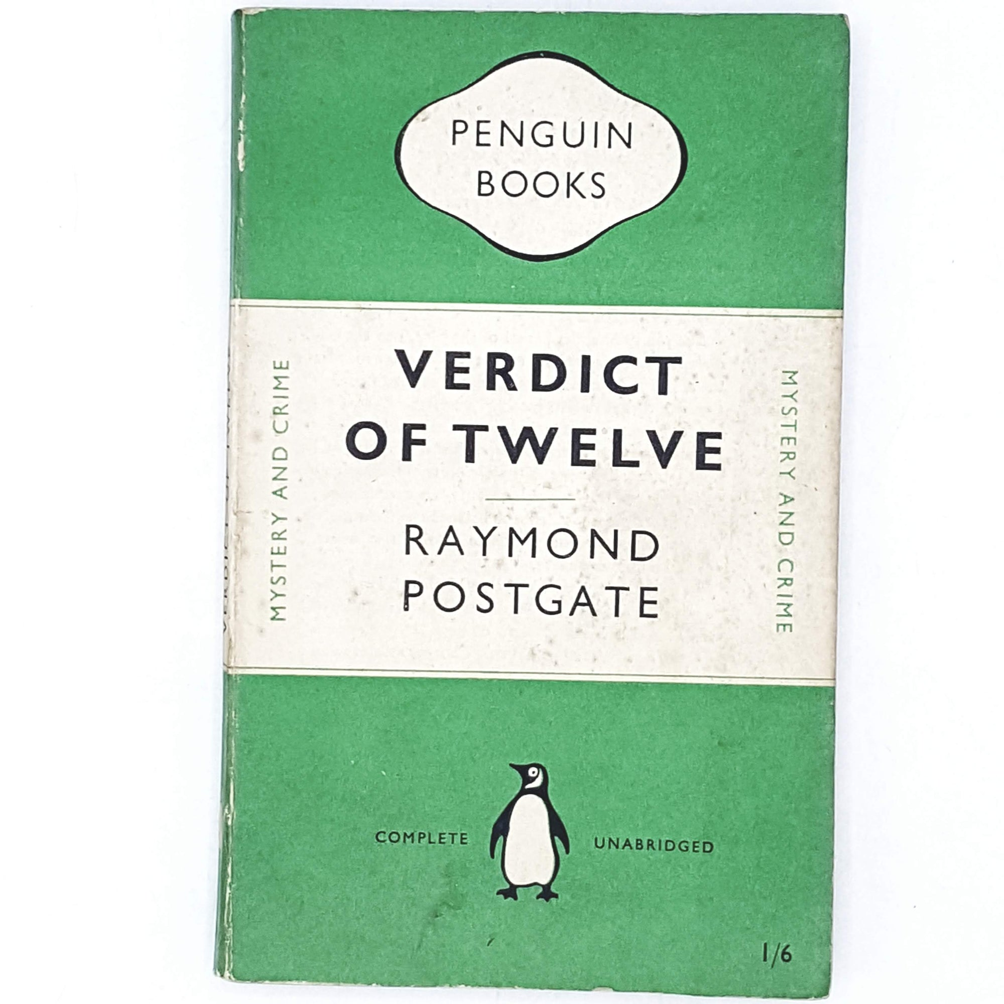 First Edition Verdict of Twelve by Raymond Postgate 1949
