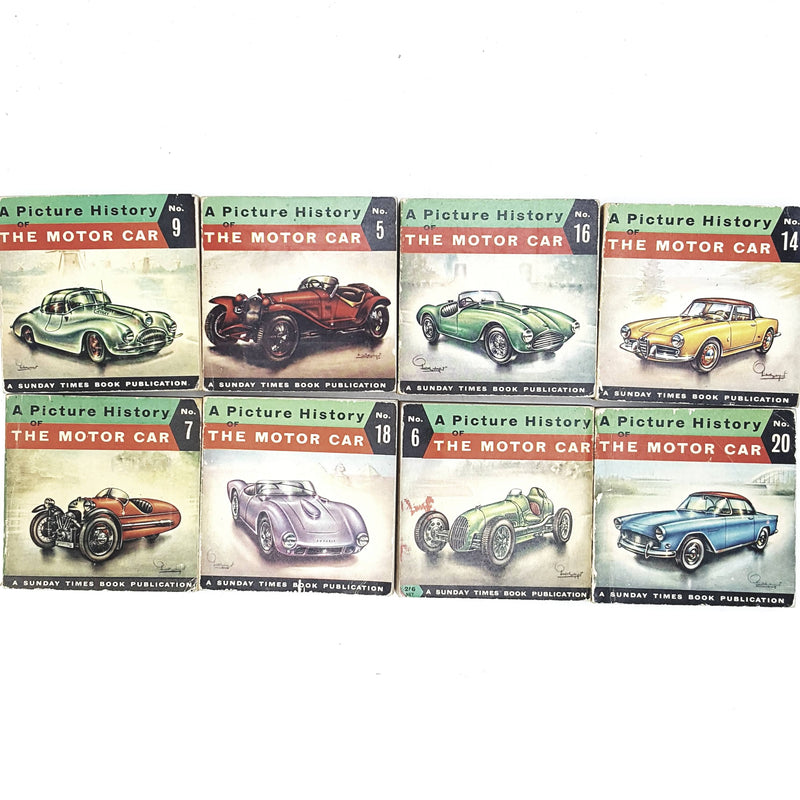 Collection History of the Motor Car illustrated