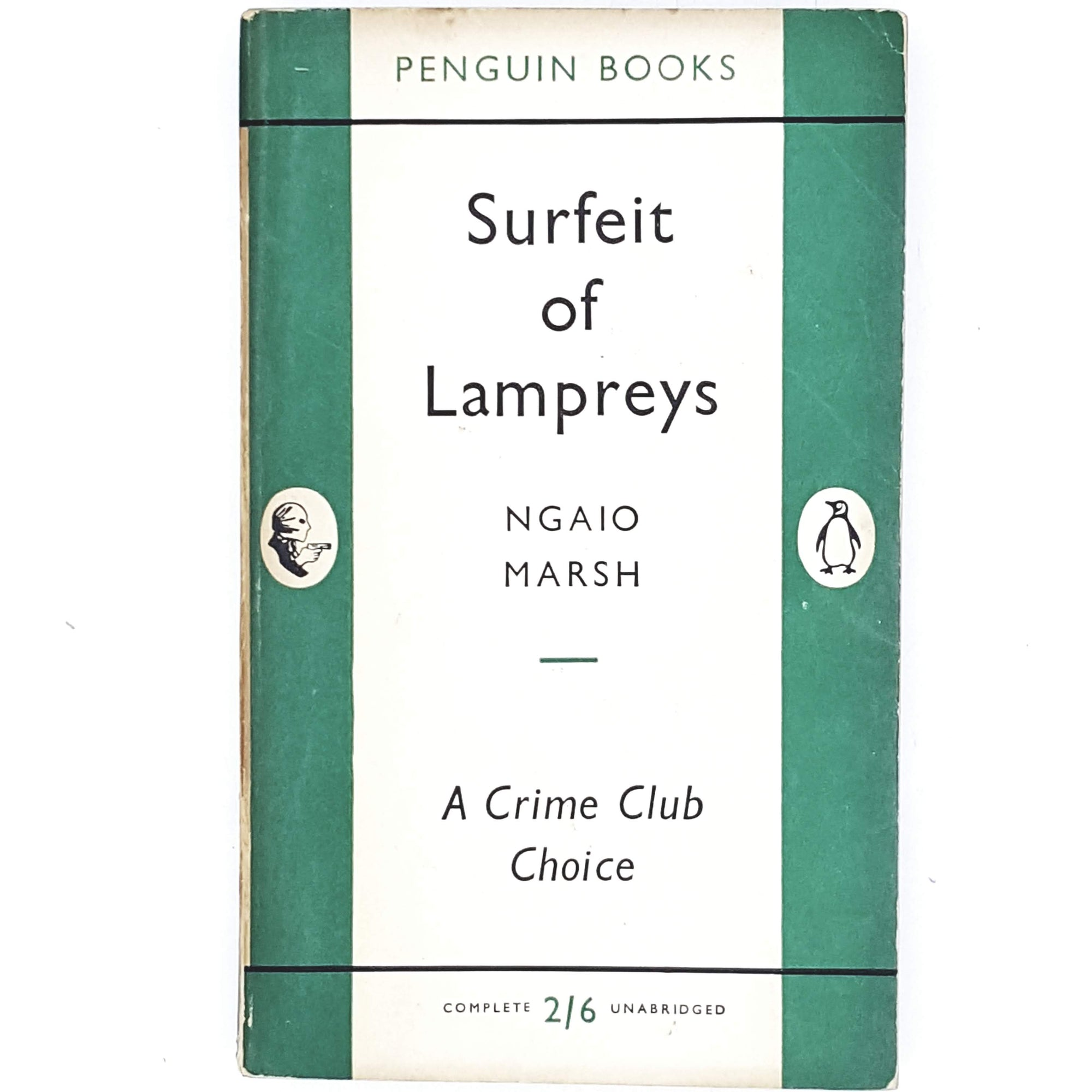 First Edition Ngaio Marsh's Surfeit of Lampreys 1955