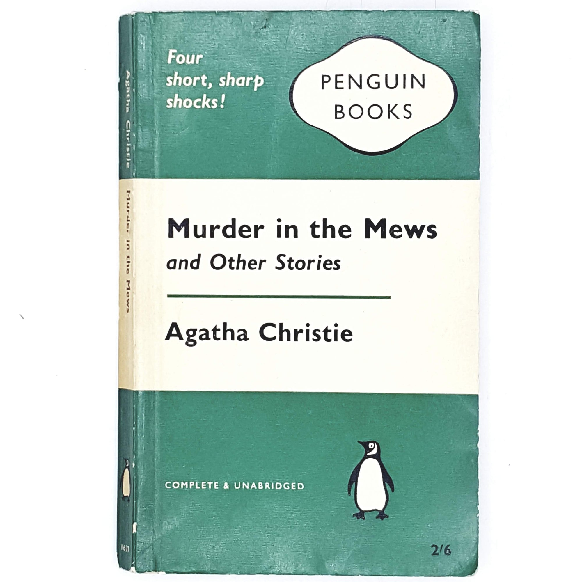 Agatha Christie's Murder in the Mews and Other Stories 1961