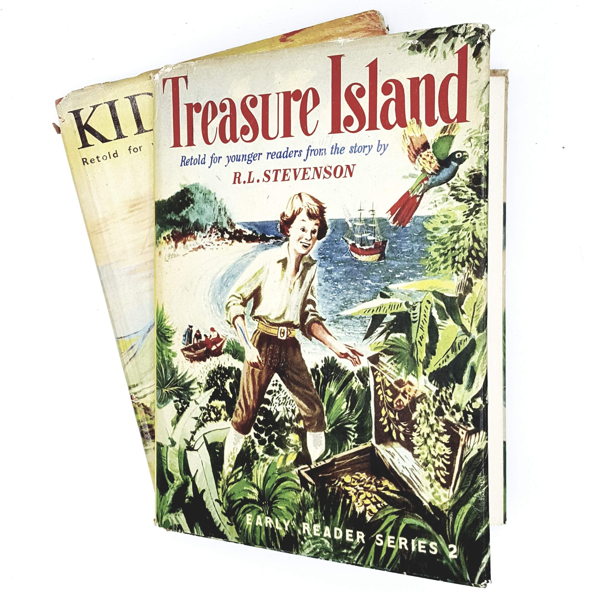 Collection Robert Louis Steveson's Kidnapped and Treasure Island, illustrated