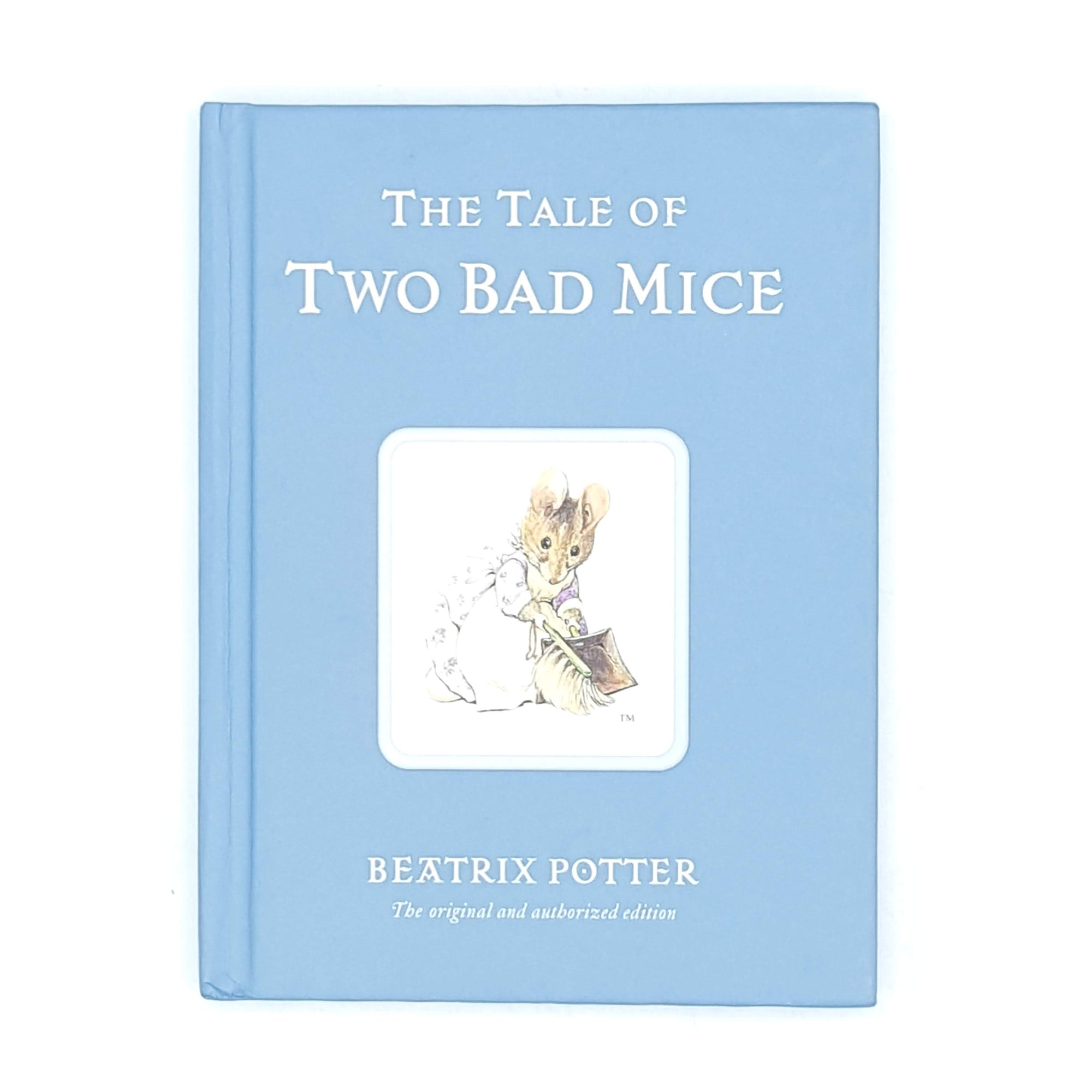 Beatrix Potter's The Tale of Two Bad Mice, blue cover