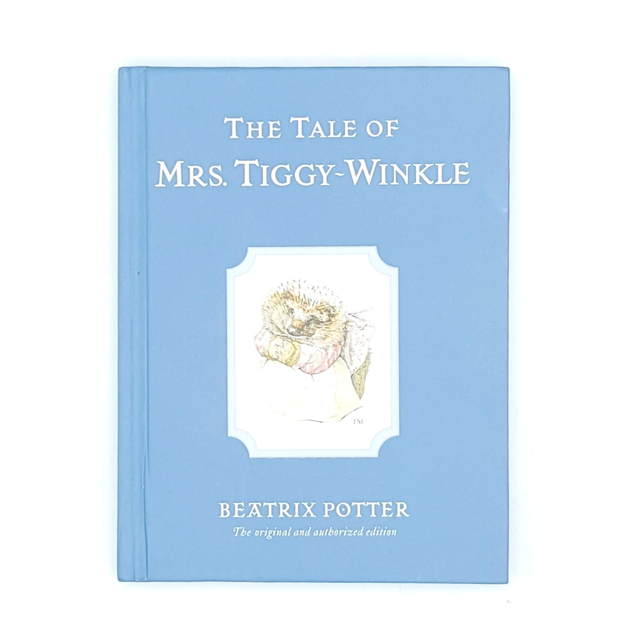 Beatrix Potter's The Tale of Mrs. Tiggy-Winkle, blue