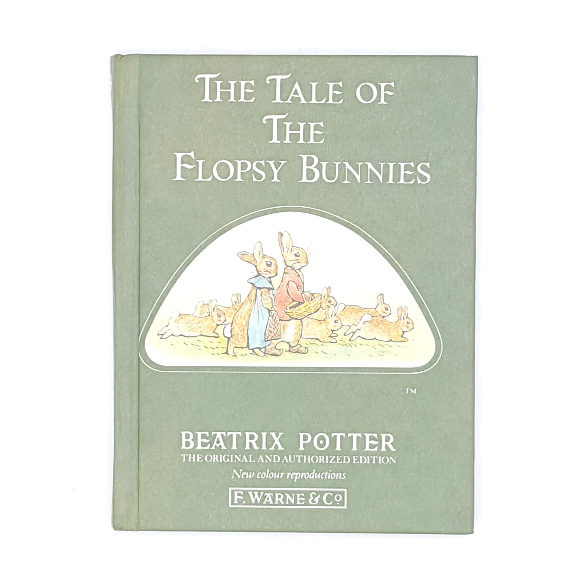 Beatrix Potter's The Tale of the Flopsy Bunnies, green cover
