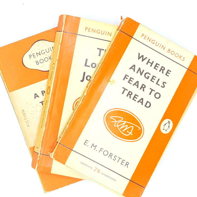 E. M. Forster's Vintage Orange Penguin Collection