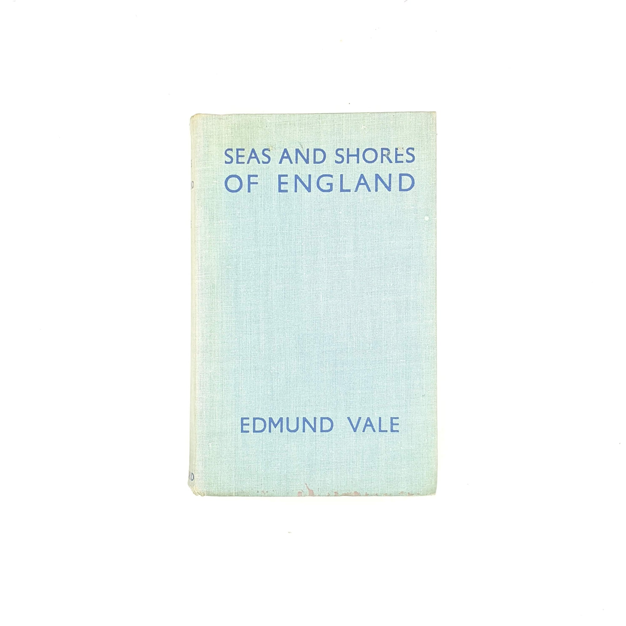 Seas and Shores of England by Edmund Vale 1936