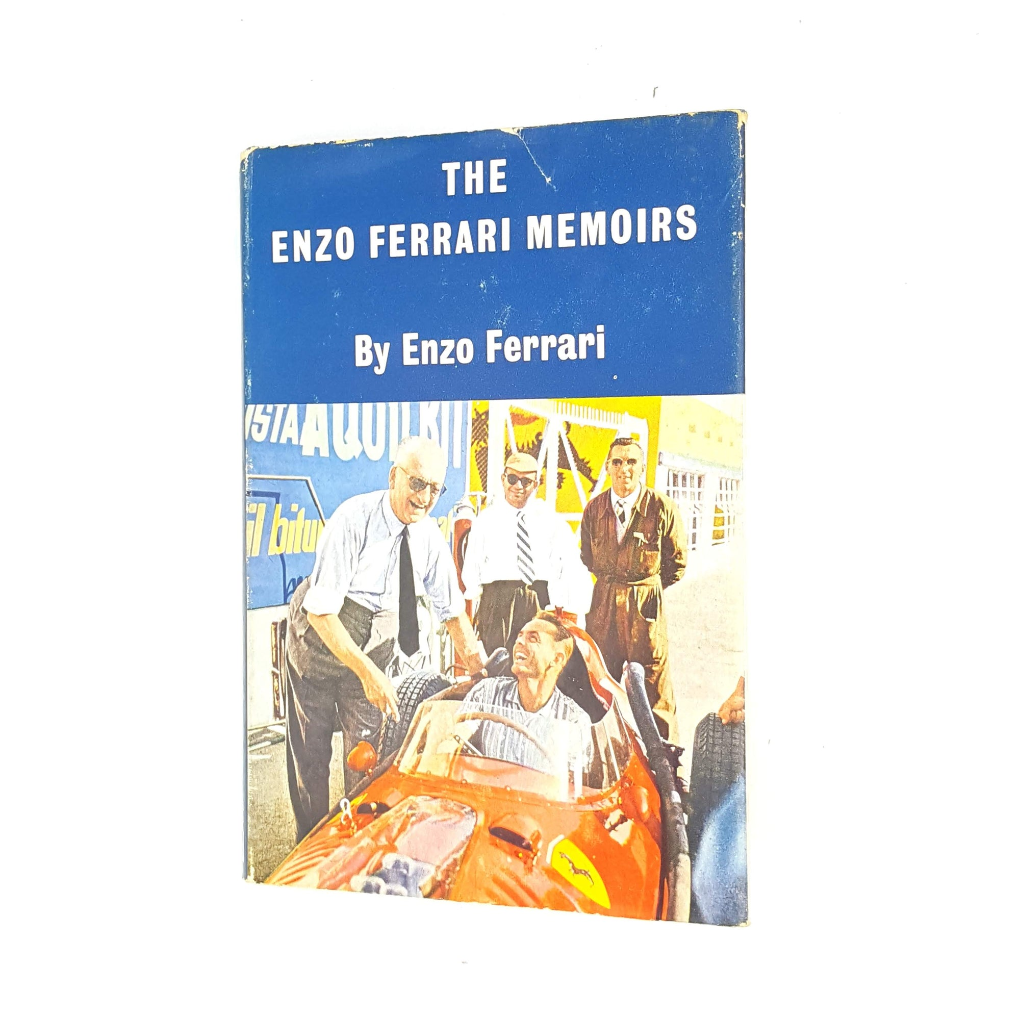 The Enzo Ferrari Memoirs by Enzo Farrari