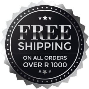 Free Shipping on all orders over R1000