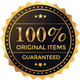 100% Original Items Guaranteed