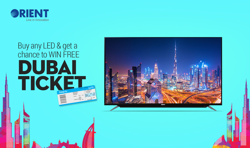 Fly to The Emirates with Orient's Latest LED TV Offer