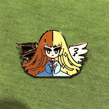 YGO CHANGE OF HEART ENAMEL PIN