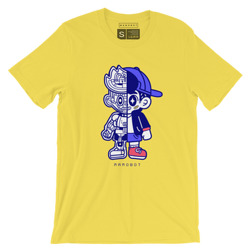 TOUGH GUY ROBOT T SHIRT