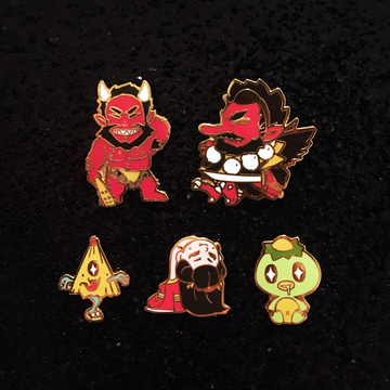 YOKAI Enamel Pin Set