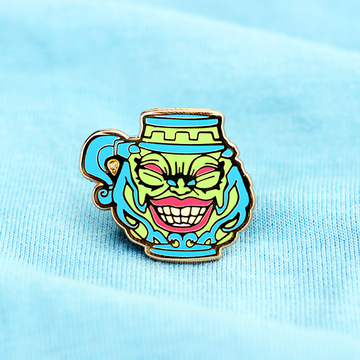 YGO POT OF GREED ENAMEL PIN