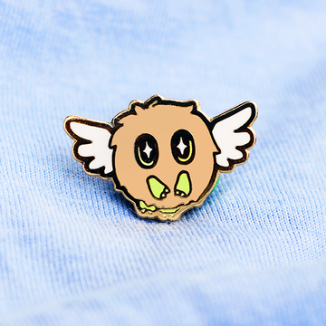 YGO WINGED KURIBOH ENAMEL PIN