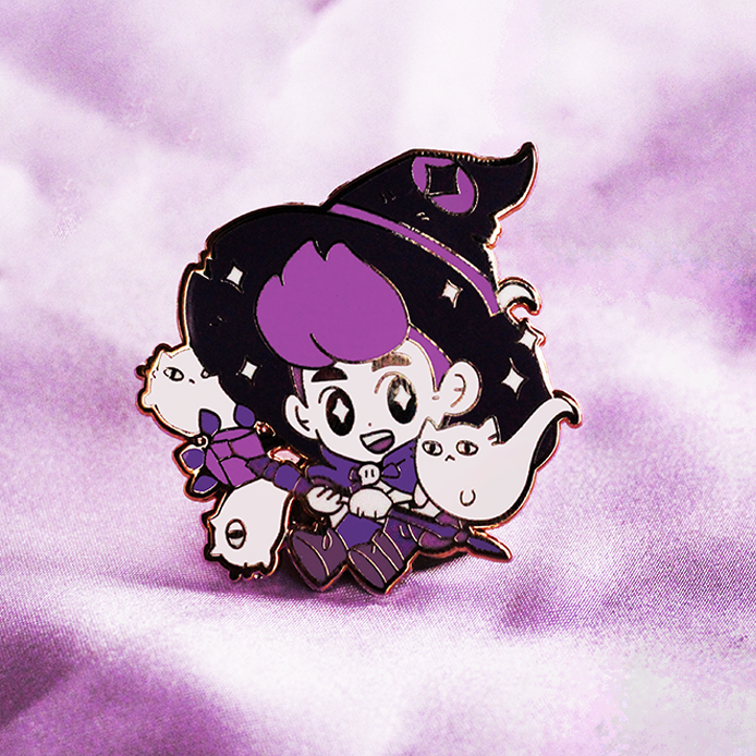 WITCH BOY SUMMONER ENAMEL PIN