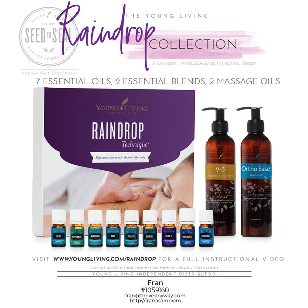 The Raindrop Collection by Young Living - Thrive Any Way