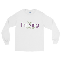 Thriving Raw-ish Mens Long Sleeve T-Shirt - Thrive Any Way