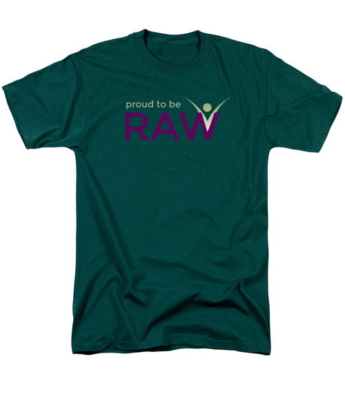 Proud To Be Raw - Men's T-Shirt  (Regular Fit) - Thrive Any Way