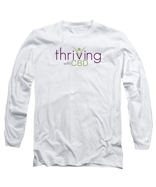 Thriving With CBD - Long Sleeve T-Shirt - Thrive Any Way