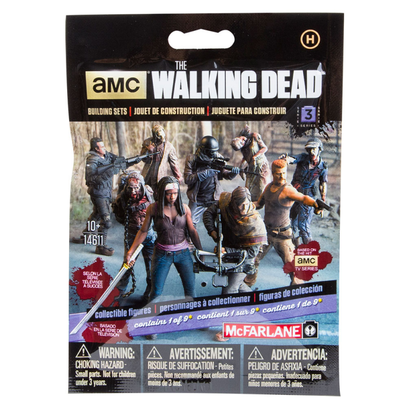 Akihabaratoys Coleccionable MCFARLANE BLIND BAG BOOSTER THE WALKING DEAD