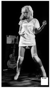 Debbie Harry, Blondie, 1977, Limited Edition Print, signed by the celebrity photographer