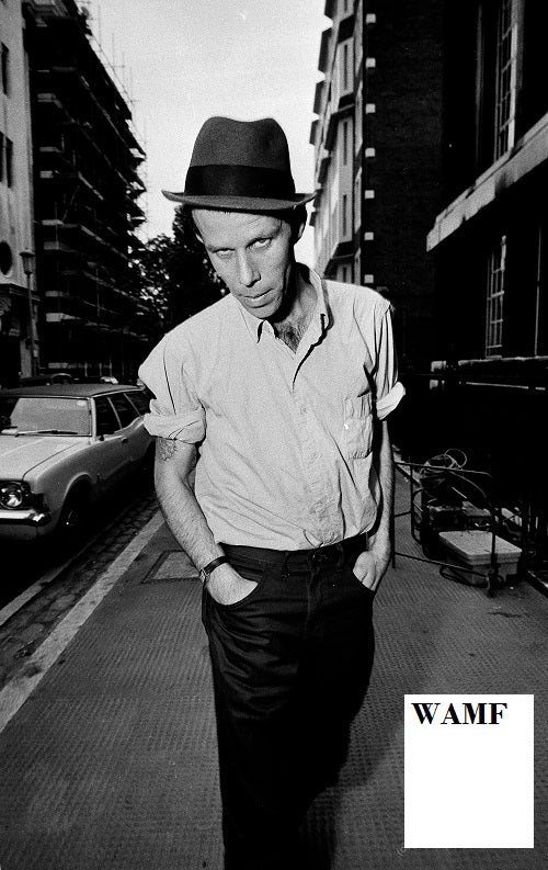 Tom Waits, New York, 1985 - 111, Limited Edition Print, signed by the celebrity photographer
