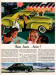 1941 Ford Lincoln Car Ad