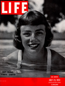 1951 Mary Freeman Life Magazine Cover
